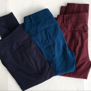 AnnTaylor Loft Bundle/3 Career Marisa Skinny Pants